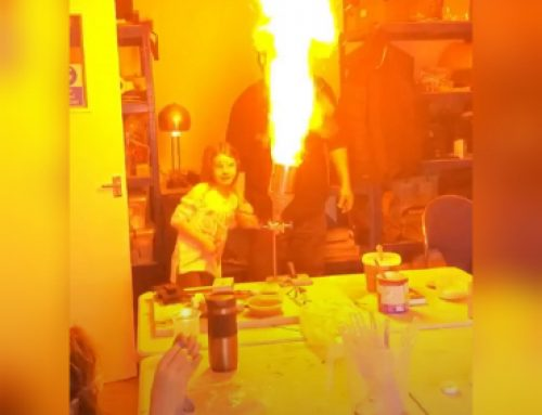 Custard Powder Flamethrower